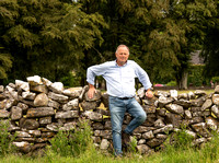 Frank and the limestone dry stone wall (2019; 90266)
